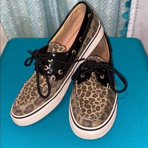Sperry Top-Sider Cheetah Print Boat Shoe